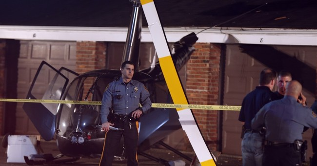 Helicopter crashes near New Jersey apartment complex
