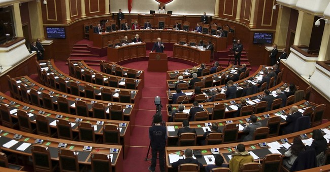Albanian police sue opposition leader, say he urged violence