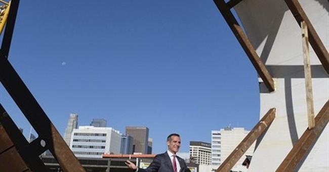 Rancor over development, crime shadow LA mayor's race