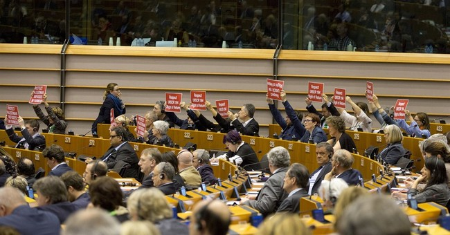 EU lawmakers, in unusual move, pull the plug on racist talk
