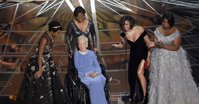 Former NASA mathematician, 98, gets her moment at Oscars