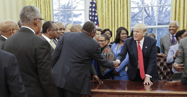 Trump signs executive order on black colleges