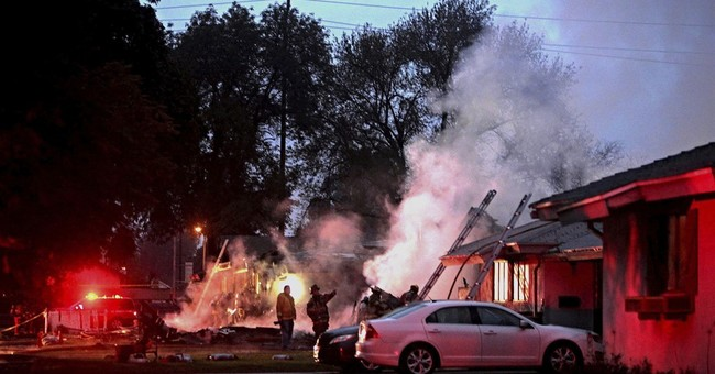 The Latest: 3 dead, 2 injured as plane hits California homes