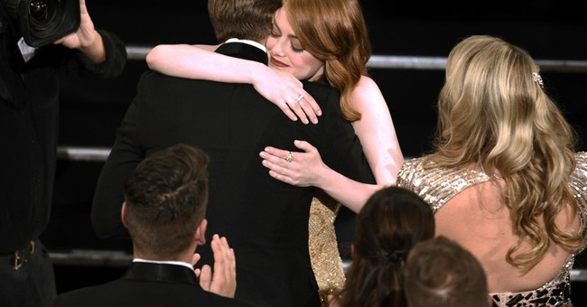 Emma Stone wins best-actress Oscar for 'La La Land'