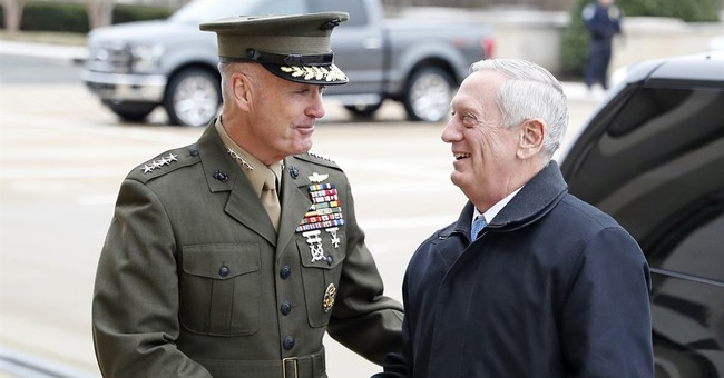 Pentagon chief presented counter-IS plan to White House