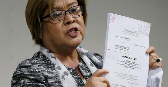 Detained Philippine senator asks court to nullify arrest