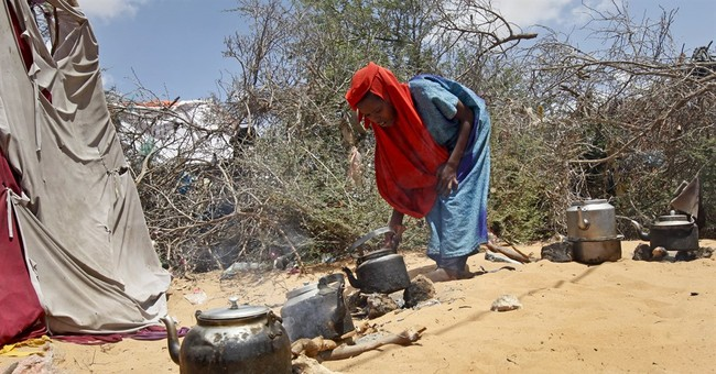 Drought, hunger push Somalis to flee amid fears of famine