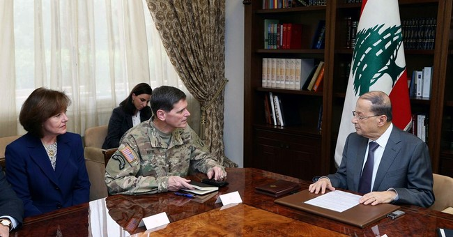 US general discusses military aid on Lebanon visit