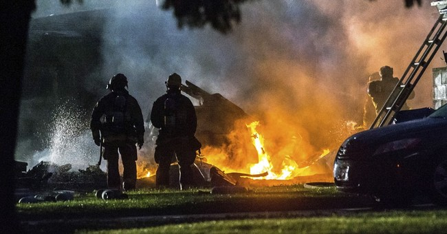 Small plane crashes into California homes, killing 3 people
