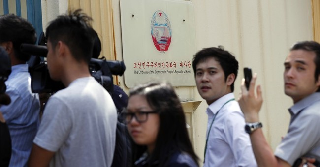 The Latest: Women formally charged with murdering N. Korean