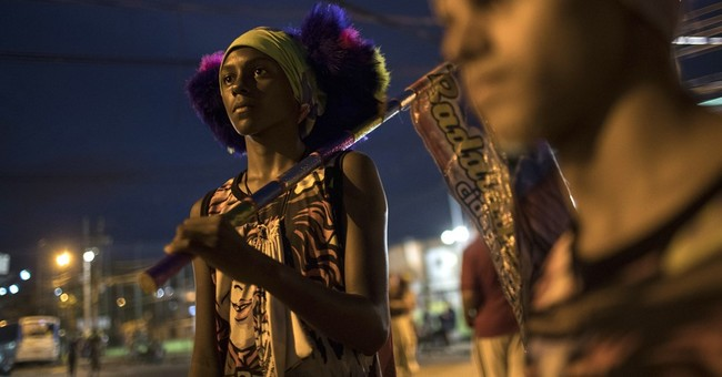 Clown suits, slamming balls form of Brazil Carnival revelry