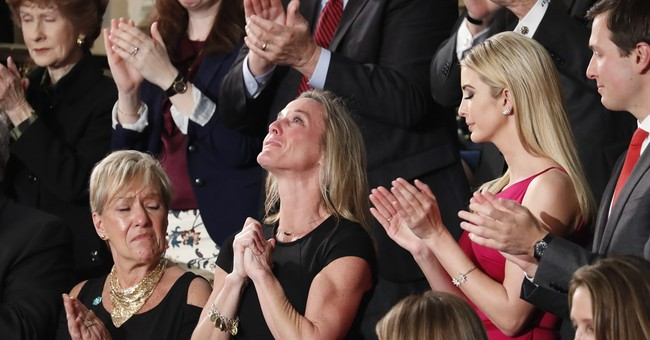 Was Trump tribute to fallen Navy SEAL fitting or calculated?