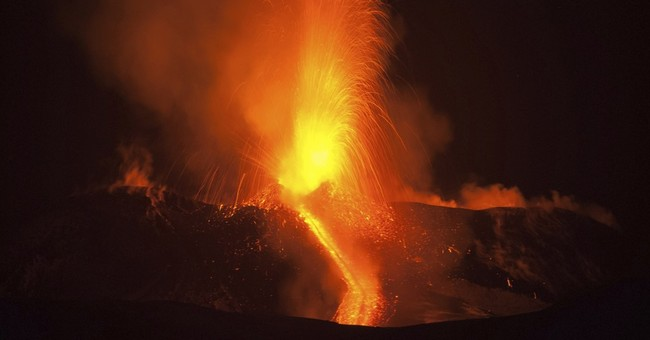 Etna volcano erupts in fiery show of lava in eastern Sicily