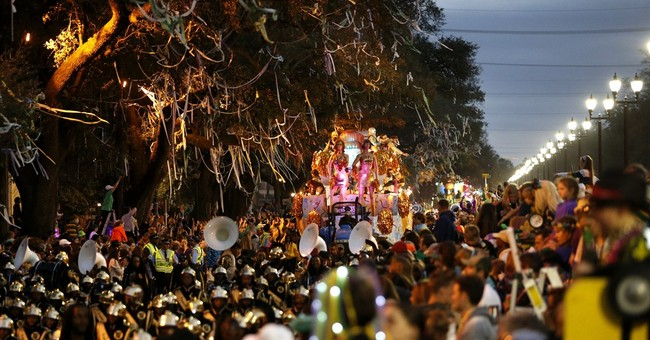 The Latest: Mardi Gras reveler: 'People can act like fools'