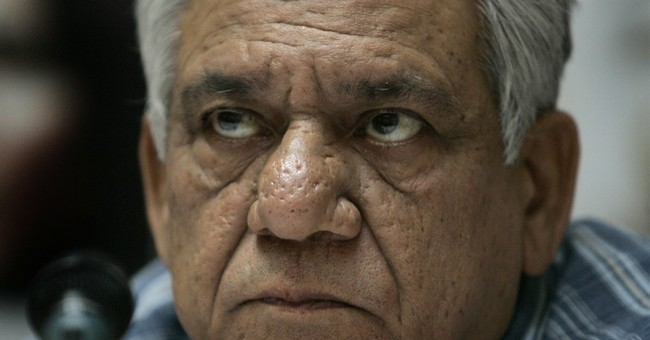 Popular Indian character actor Om Puri dead at 66