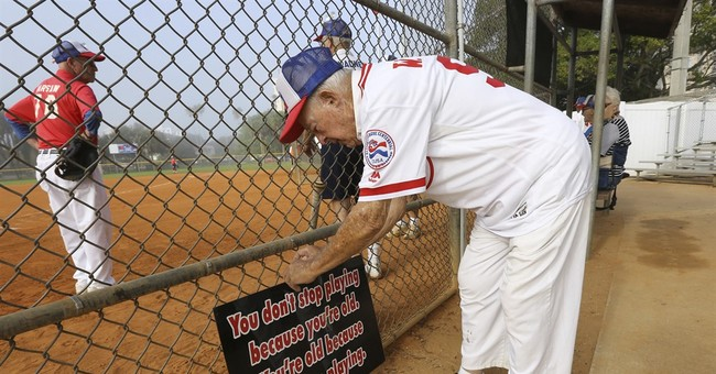 Florida softball league is 87 _ many players are even older
