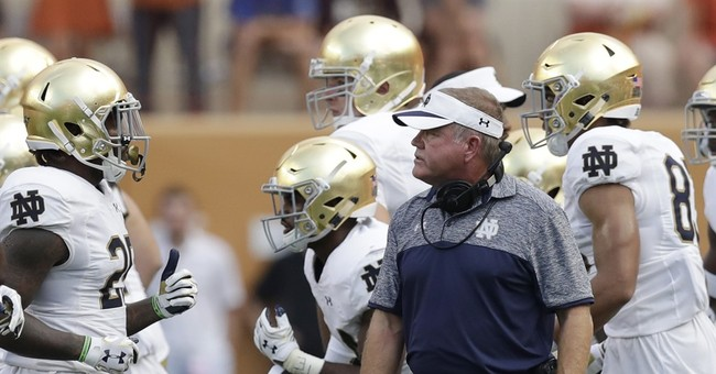 Pick 6: Notre Dame, Texas positioned for turnaround in 2017