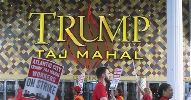 Icahn selling Trump Taj Mahal casino to Hard Rock
