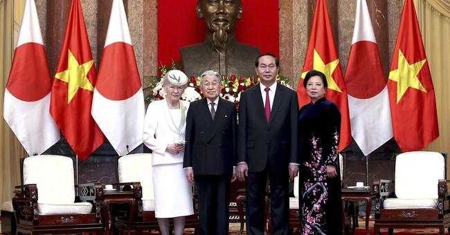 Japan emperor to meet abandoned Vietnam families of soldiers