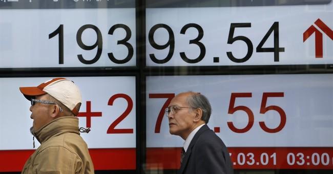Global stocks rise following Trump's upbeat speech