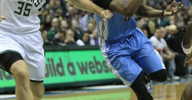 Jokic's 2nd straight triple-double leads Nuggets past Bucks