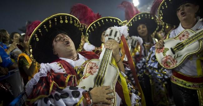 AP PHOTOS: Best of Carnival in Latin America, Caribbean