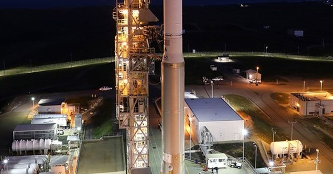 Classified US satellite launched from California