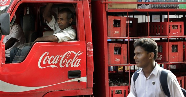 Angry at PETA, traders in south Indian state pull US drinks