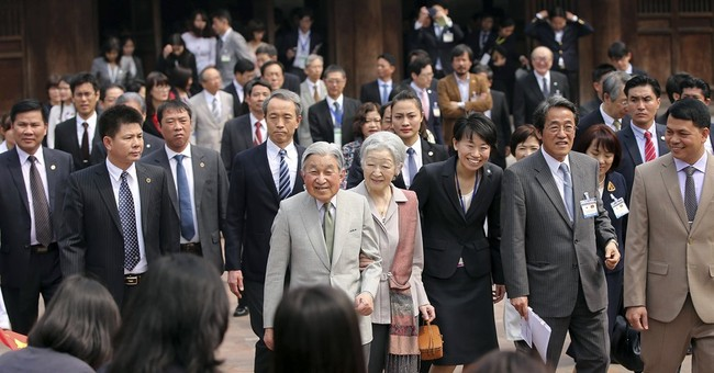 Emperor expresses sympathy to Vietnamese left by soldiers