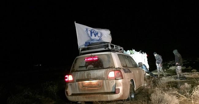 UN ramps up aid for Syrians stuck in desert near Jordan