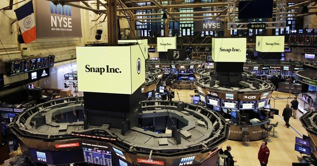 Snapchat parent rockets higher in Wall Street debut
