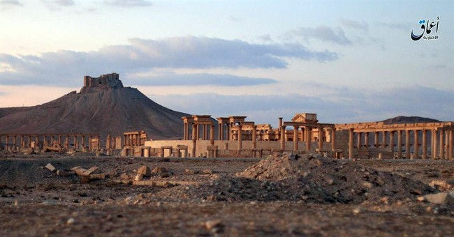 A look at Palmyra, Syria's historic town retaken from IS