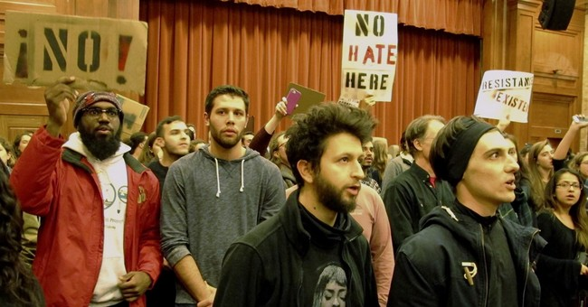 College students protest speaker branded white nationalist