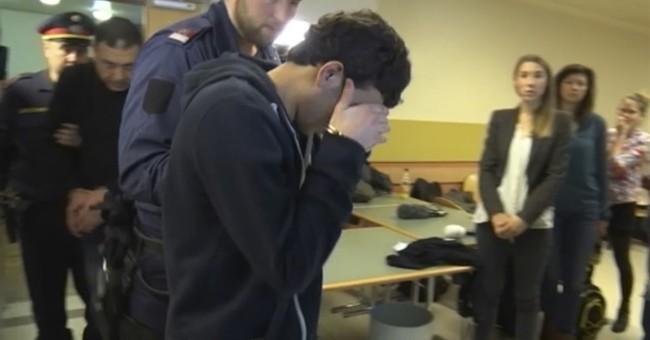 Austrian court convicts 8 Iraqis of gang-rape of German