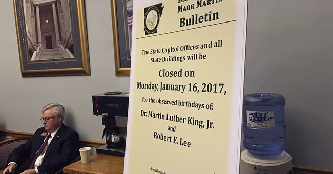 Bill advances to separate Lee from King holiday in Arkansas