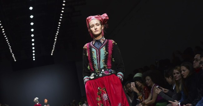 Chloe designer's swan song in Paris; fashion gets political