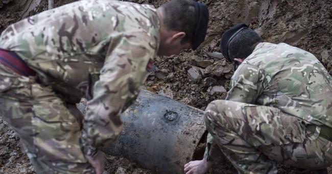 London neighborhood evacuated after WWII German bomb found