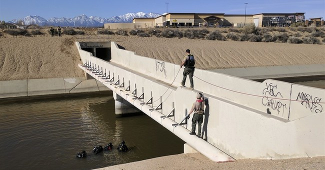 Car plunges into California Aqueduct, 2 killed and 1 rescued