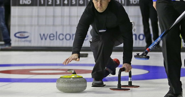 Curling: Not falling on your face is just the 1st challenge