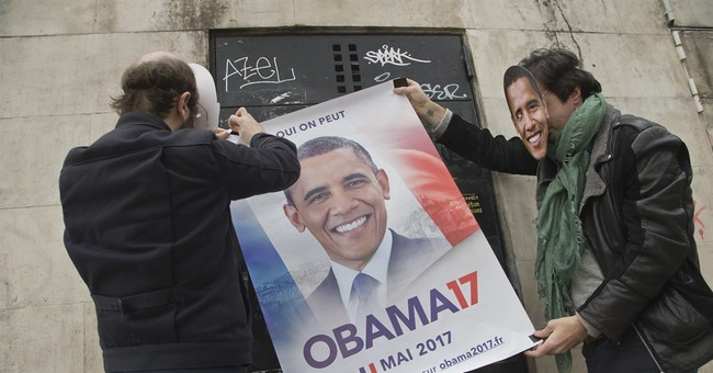 Petition urges Obama to run for president - of France