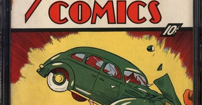 Rare comic books with Superman, Batman debuts go to auction