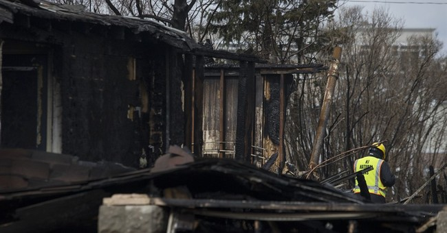 Fire guts 4 homes, damages 3 others in New Jersey shore town