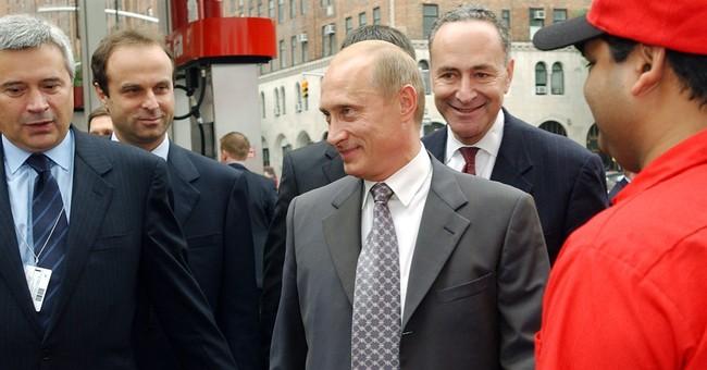 Trump, hitting back, accuses Schumer of Putin ties