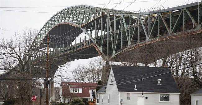 Pennsylvania-NJ bridge closed 7 weeks reopens after repair