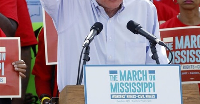 Bernie Sanders, Danny Glover: Union workers have it better