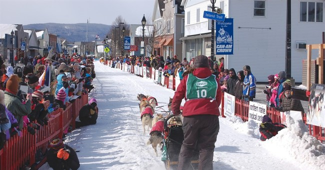 Maine's biggest dog sled race celebrates 25th anniversary