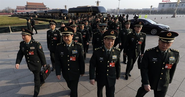 China says defense budget to rise by about 7 percent in 2017