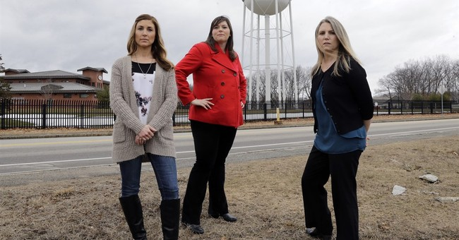 Families on edge over water contamination at former air base