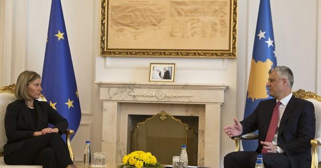 EU's Mogherini urges Kosovo ratify Montenegro border deal
