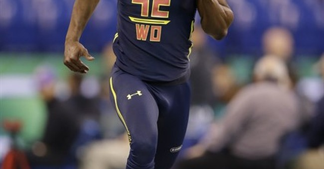 Washington receiver John Ross breaks NFL combine's 40 record
